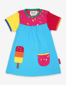 Organic Lolly Applique Dress