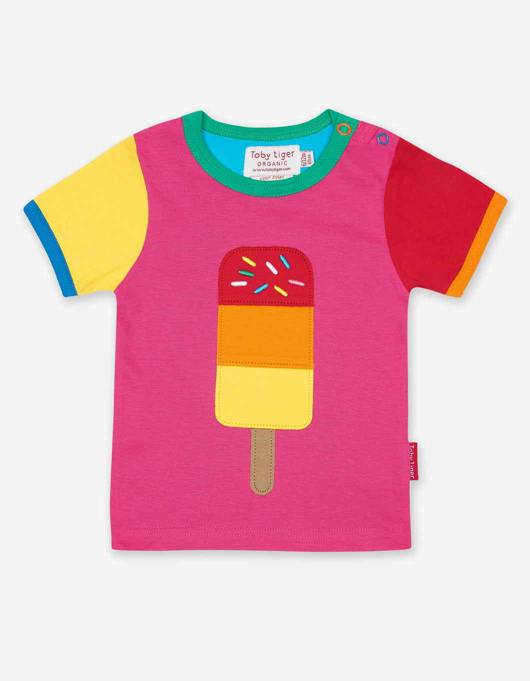 Organic Lolly Applique T-Shirt