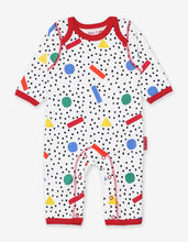 Load image into Gallery viewer, Organic Memphis Print Sleepsuit