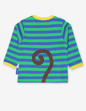 Load image into Gallery viewer, Organic Monkey Applique T-Shirt