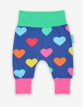 Load image into Gallery viewer, Organic Multi Heart Print Yoga Pants