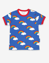 Load image into Gallery viewer, Organic Multi Rainbow Print T-Shirt