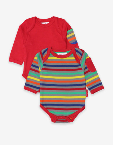 Organic Multi Stripe 2-Pack Body
