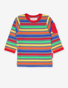 Organic Multi Stripe 2-Pack T-Shirt