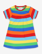 Load image into Gallery viewer, Organic Multi Stripe Dress