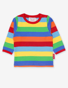 Organic Multi Stripe T-Shirt
