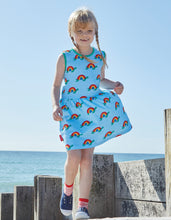 Load image into Gallery viewer, Organic Multi Turtle Print Summer Dress