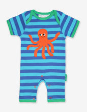 Load image into Gallery viewer, Organic Octopus Applqiue Romper