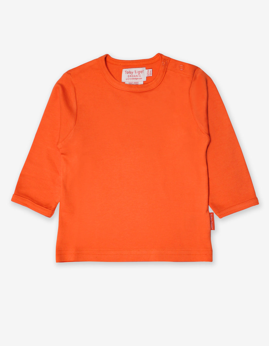 Organic Orange Basic T-Shirt