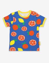 Load image into Gallery viewer, Organic Oranges and Lemons Print T-Shirt