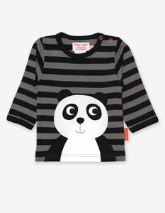 Organic Panda Applique T-Shirt