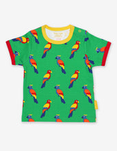 Load image into Gallery viewer, Organic Parrot Print T-Shirt