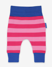 Load image into Gallery viewer, Organic Pink/Pink Stripe Yoga Pants