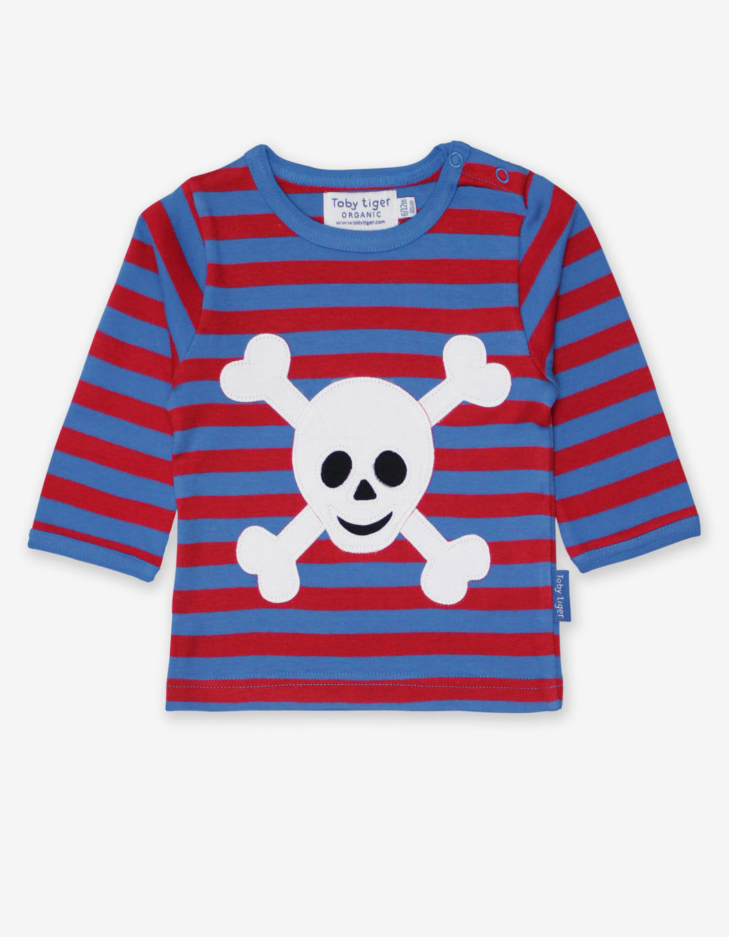 Organic Pirate Applique T-Shirt