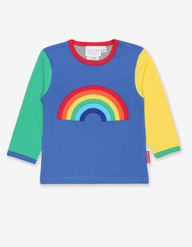Organic Rainbow Applique T-Shirt