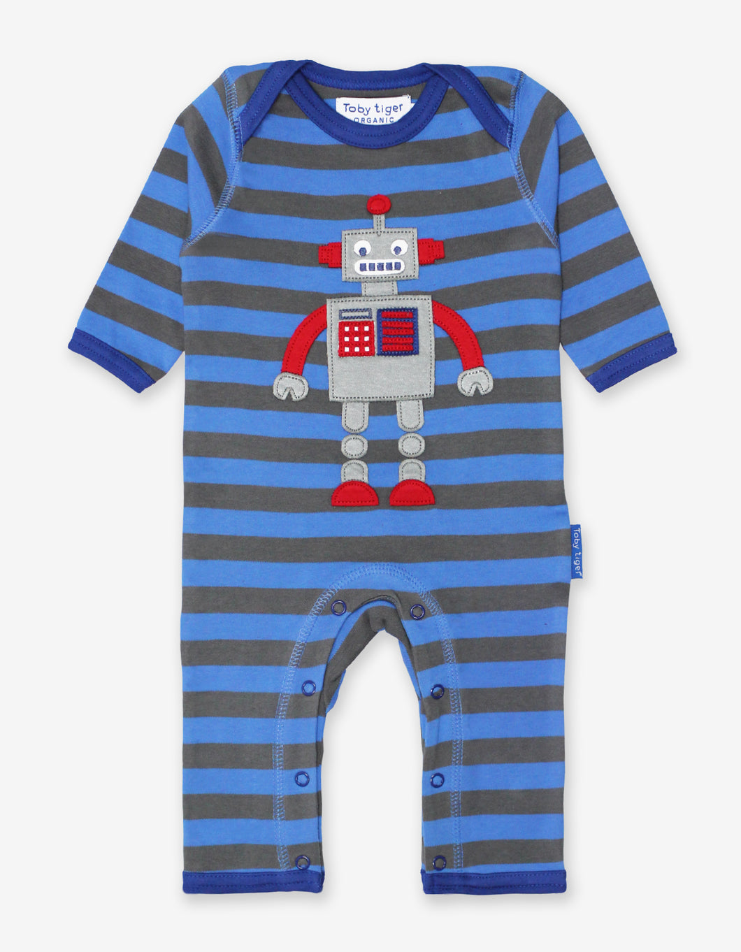 Organic Robot Applique Sleepsuit
