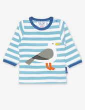 Load image into Gallery viewer, Organic Seagull Applique T-Shirt