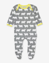 Load image into Gallery viewer, Organic Sheep 2-Pack Babygrow
