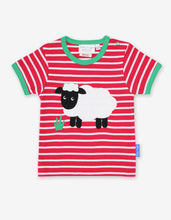 Load image into Gallery viewer, Organic Sheep Applique T-Shirt