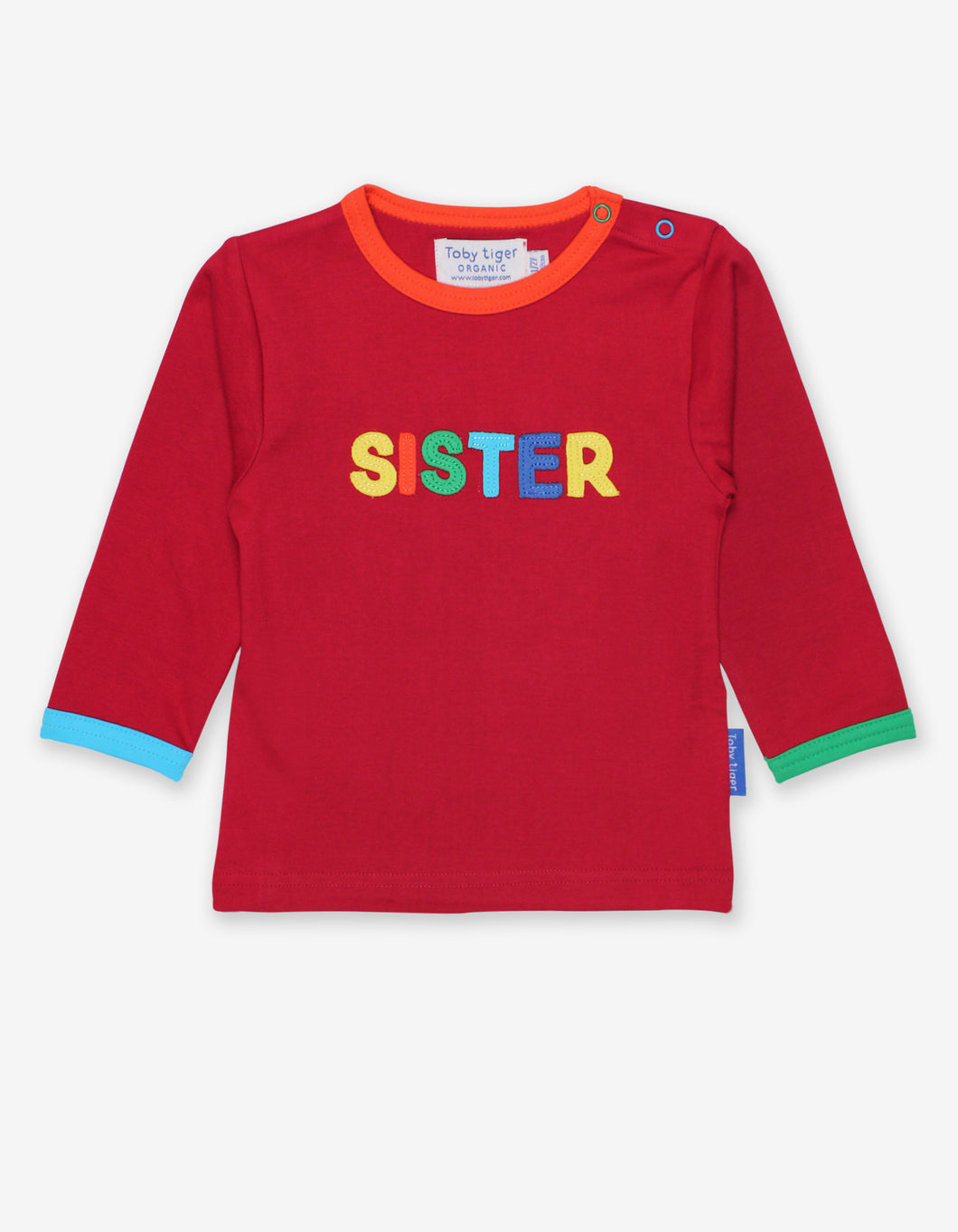 Organic Sister Applique T-Shirt
