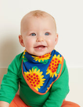 Load image into Gallery viewer, Organic Sunflower Dribble Bib