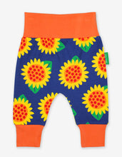 Load image into Gallery viewer, Organic Sunflower Yoga Pants