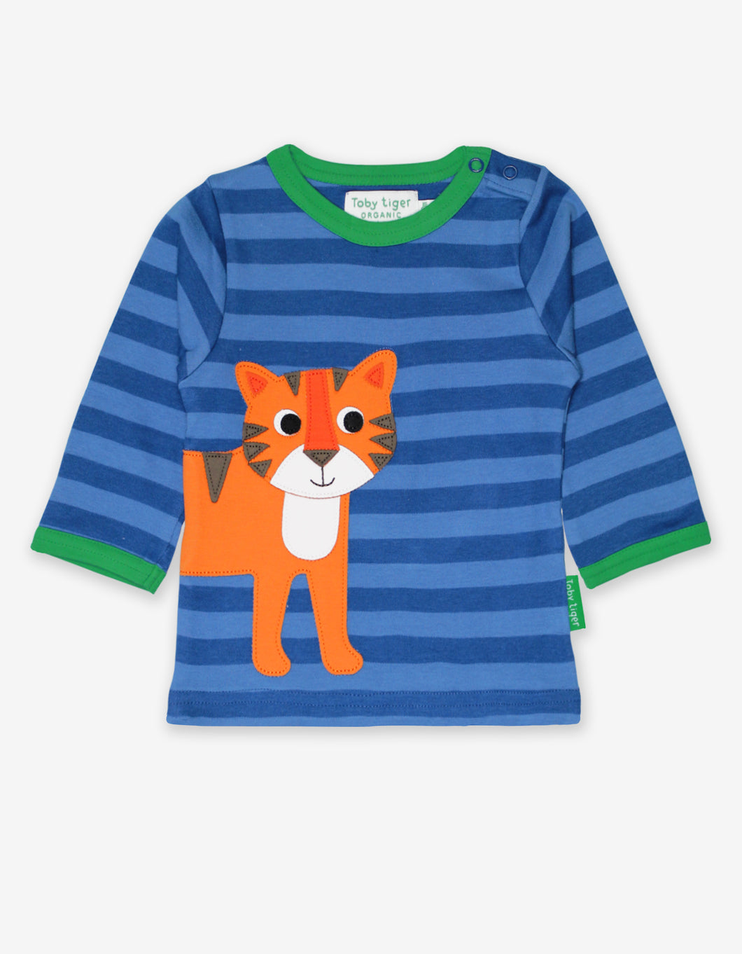 Organic Tiger Applique T-Shirt
