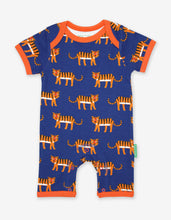 Load image into Gallery viewer, Organic Tiger Print Romper