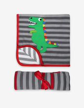 Load image into Gallery viewer, Organic Trex Applique Blanket