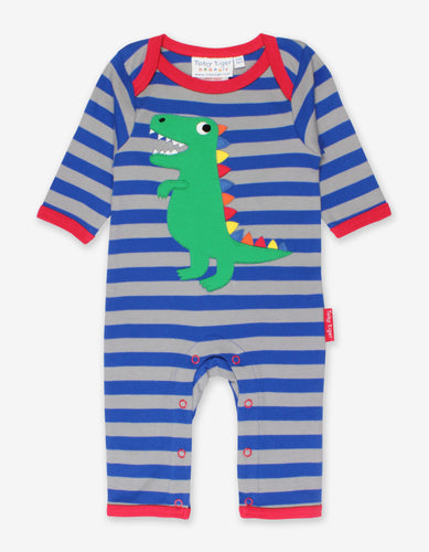 Organic Trex Applique Sleepsuit