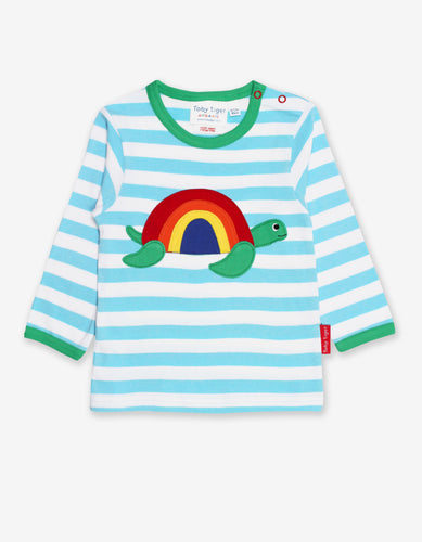 Organic Turtle Applique T-Shirt