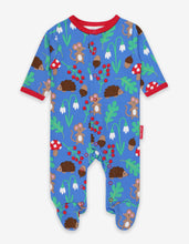 Load image into Gallery viewer, Organic Woodland Print Babygrow