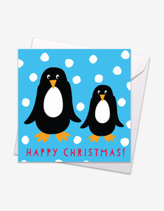 Penguins Christmas Card