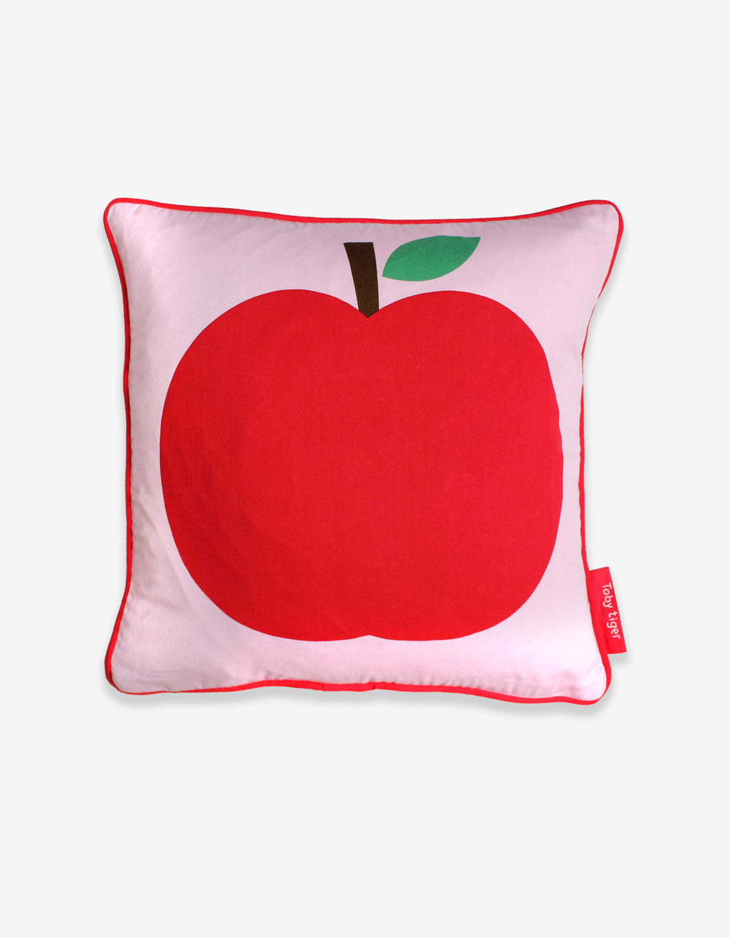 Pink Apple Cushion Cover