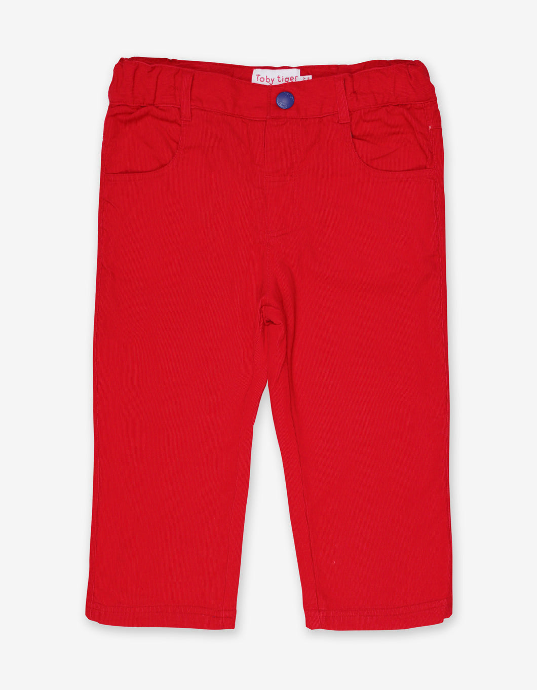 Red Cord Trousers