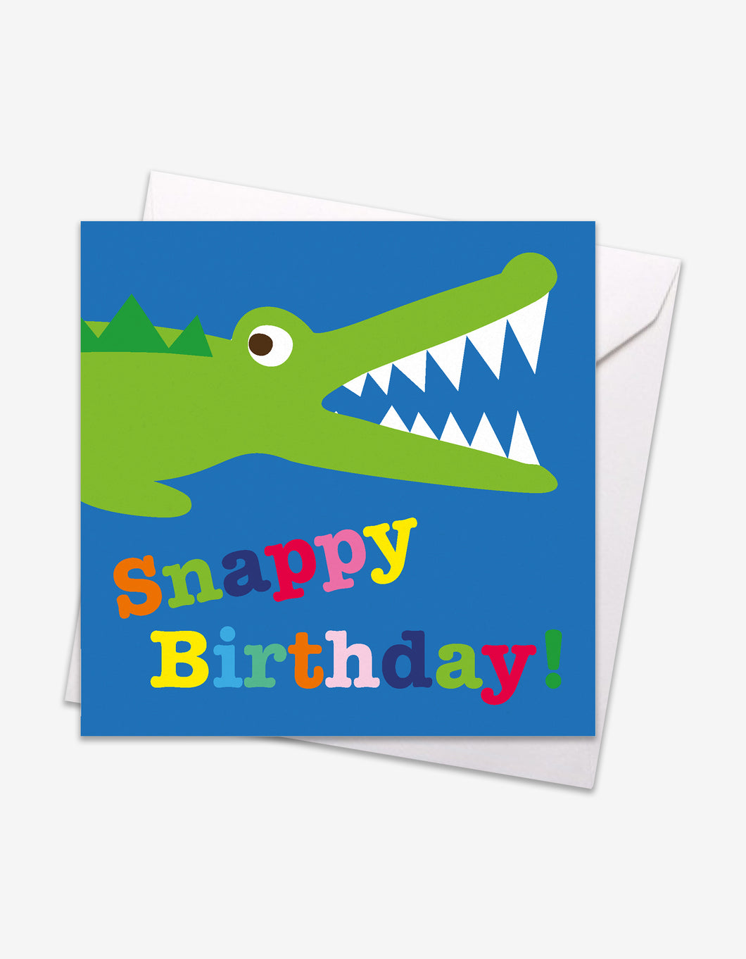 Snappy Croc Birthday Card