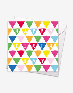 Triangle Birthday Card
