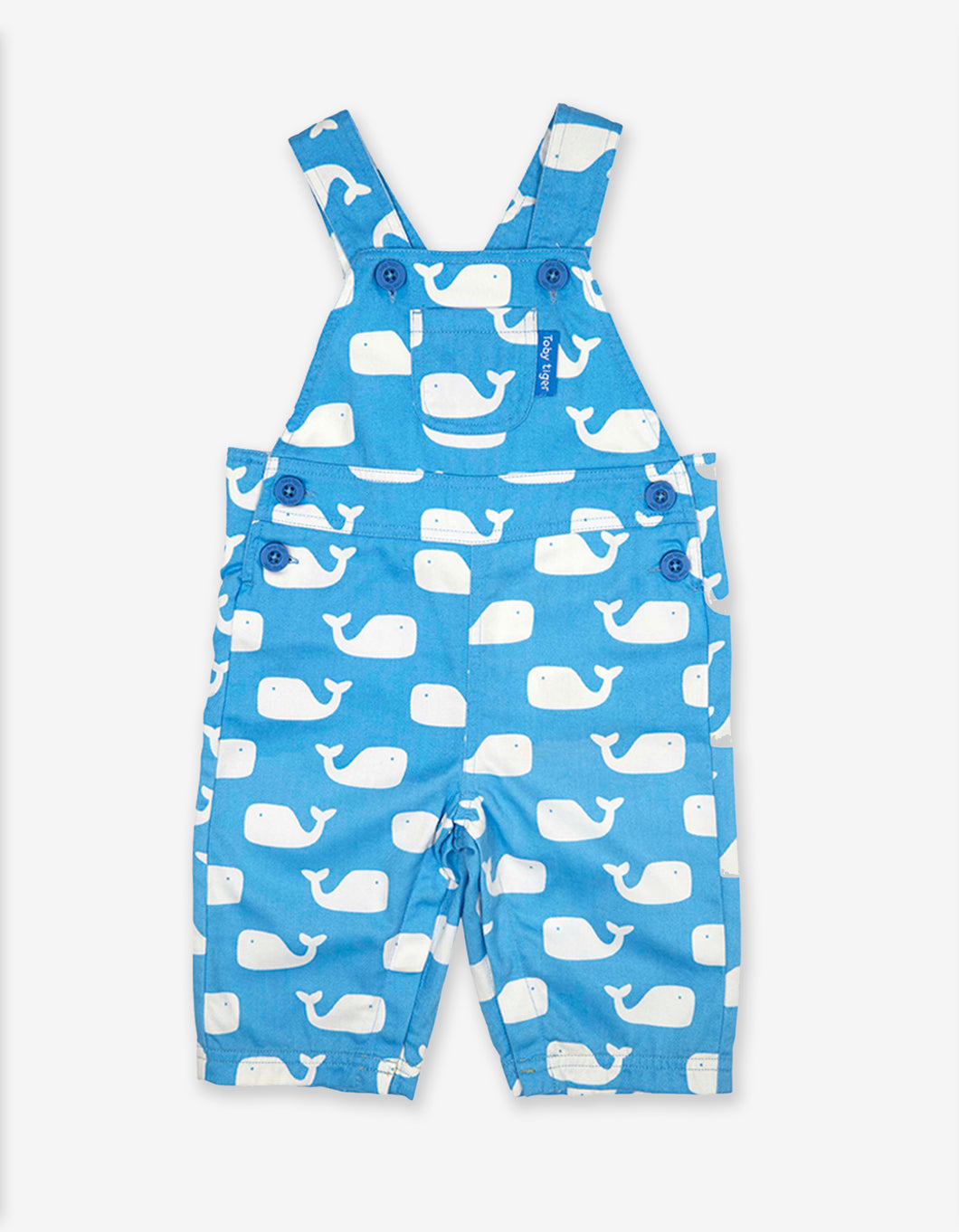 Whale Twill Dungarees