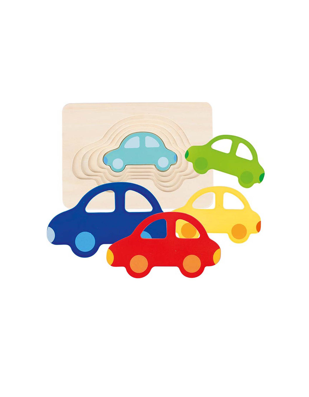 Wooden Car Insert Puzzle