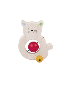 Wooden Cat Teether