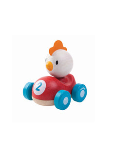 Wooden Chicken Racer