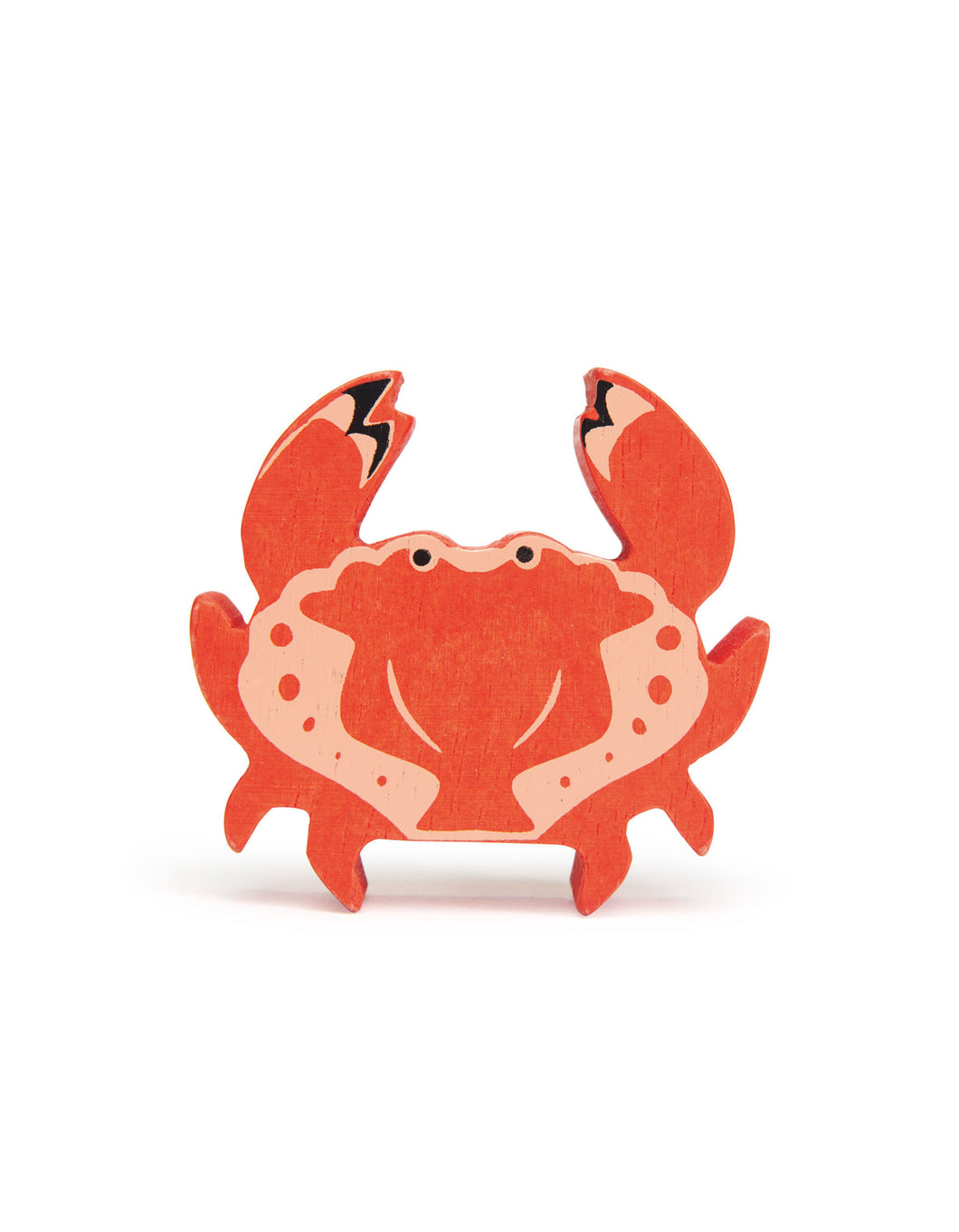 Wooden Coastal Animal - Crab