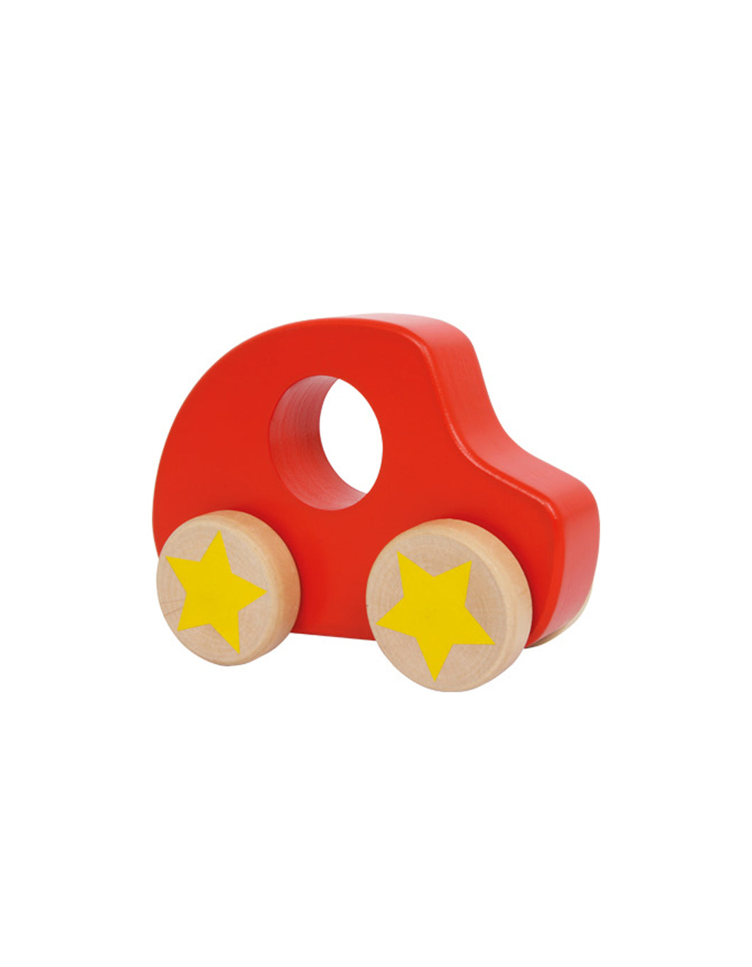 Wooden Red Car Toy