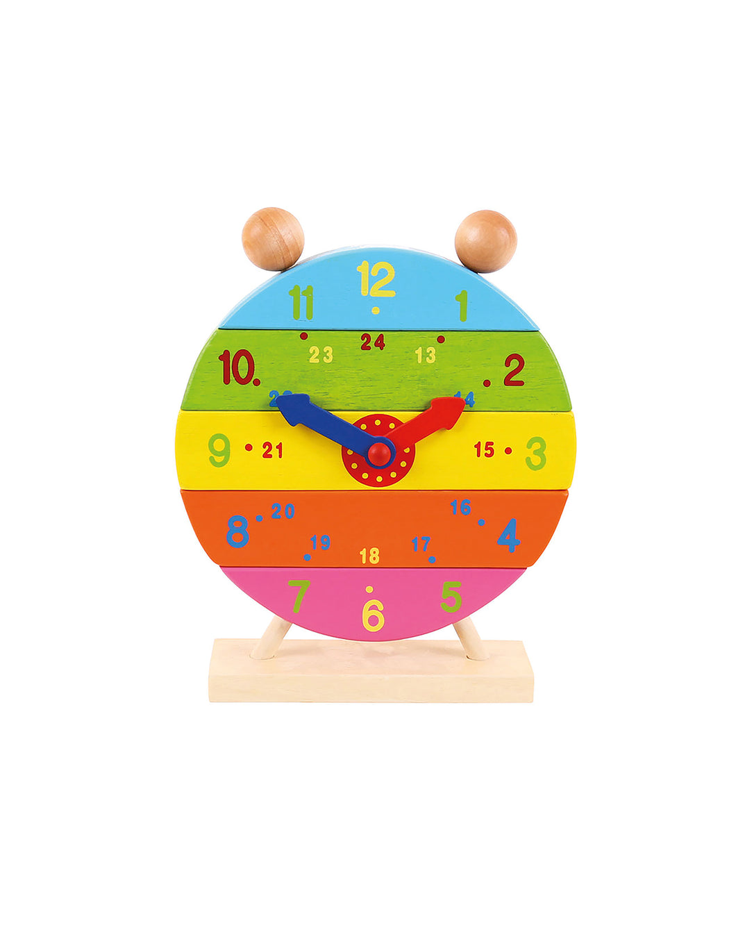 Wooden Stacking Clock