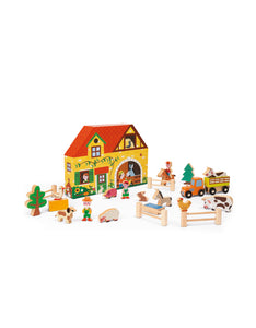 Wooden Story Box farm