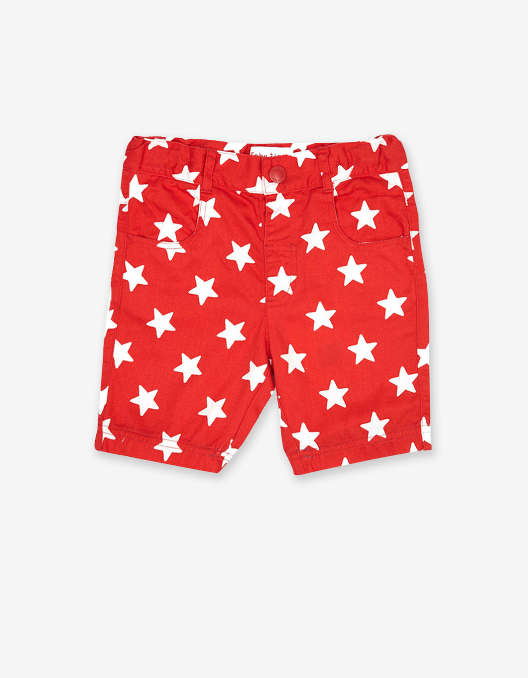 Red Star Twill Shorts