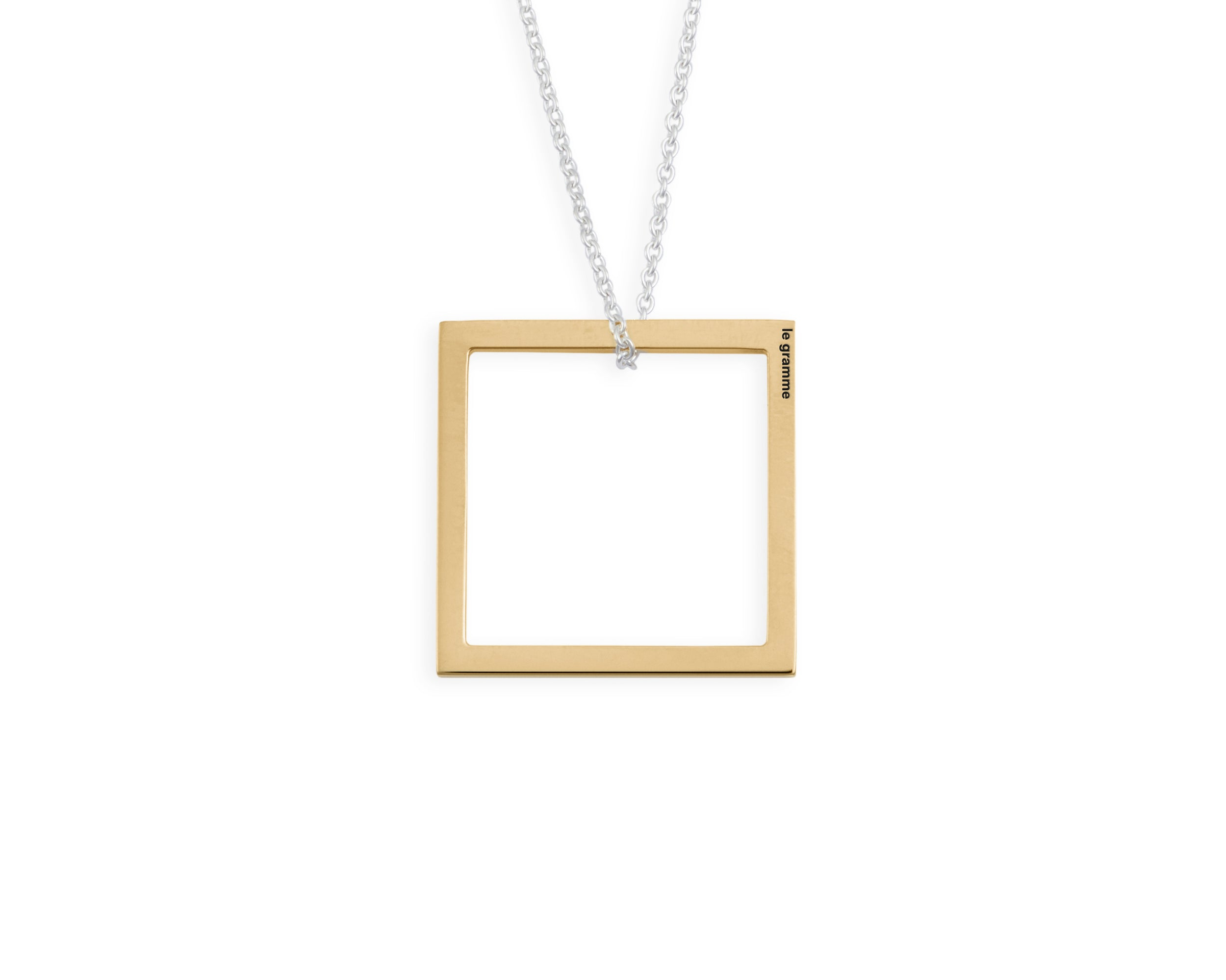 collier carré le 1,5g