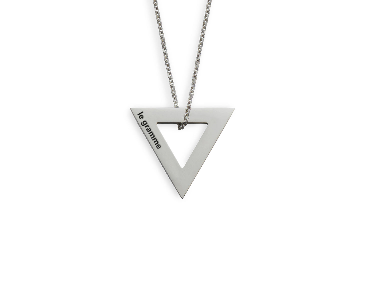 collier triangle le 2,1g