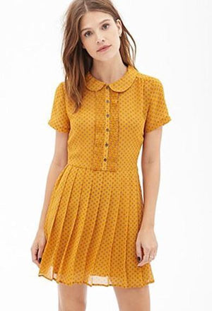 FRANCESCA collar dress