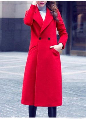 SELENA long wool coat